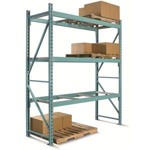 "Pallet Rack- Load Beam (Box) 96x3.5"" 5125 lbs/pr"