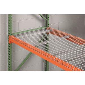 "Wire Deck 46 x 36""  2400 lbs/cap"