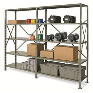 "Shelving-Boltless 12x36x76"" 5 Shelf Unit -System 200"