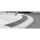 """Advantage Cast Iron - Cast in Place Uncoated Plates - 2"""" x 25' Radius"""