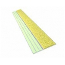 "Ecoglo Non-Slip  Photoluminescent Surface Applied 1.5"" Yellow"