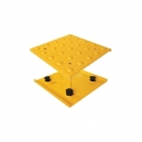 "Access Tile Cast in Place Replaceable Tactile- Domes 10 Tiles / Box 24"" X 24"""