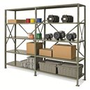 "Shelving-Boltless 18x42x76"" 5 Shelf Add On -System 200"