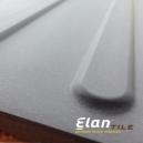 "ELAN PORCELAIN TACTILE - BARS 8 TILES / BOX 12"" X 12"" GREY"