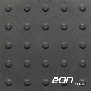 """EON RUBBER RESILIENT TACTILE - DOMES 12"""" X 12"""" X 3MM"""