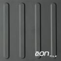 "EON RUBBER RESILIENT TACTILE - Bars 12"" X 12"" x 3mm"