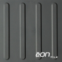 "EON RUBBER RESILIENT TACTILE - Bars 12"" X 12"" x 5mm"