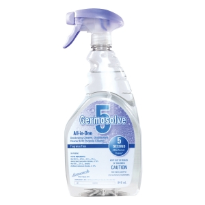New Germosolve5 Disinfectant Cleaner No Scent 946ml Spray Bottle - Priced 12/Case