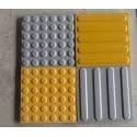 "Access Tile Fire Resistant Surface Applied Domes 16 Tiles/Box 24""x48"""