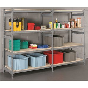 "Shelving -Add On Wide-Span 18x48x72"" 4 Shelf"