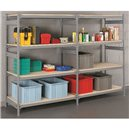 "Shelving -Add On Wide-Span 24x48x72"" 4 Shelf"
