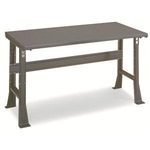 """Workbench -48x30"""" Steel Top-Adjustable Legs"""