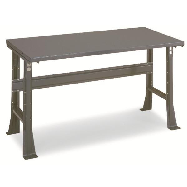 Workbench 48x30 Steel Top Adjustable Legs
