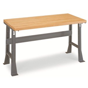 "Workbench -48x30"" Maple Top-Adjustable Legs"