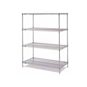 "Wire Shelving-Super Erecta 18x48x63"" 4 Shelf Starter"