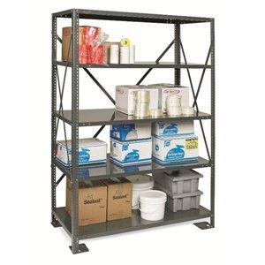 "Shelving - 12x36x75"" 5 Shelf Unit - System 100"