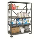 "Shelving - 12x48x75"" 5 Shelf Unit - System 100"