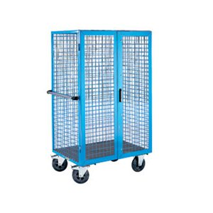 "Employee Locker - 12x18x72"" Sgl Tr/3 Wide Blue"