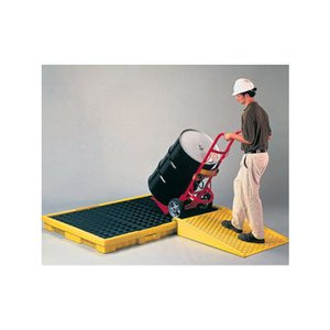 Spill Containment Ramp - Yellow for Modular & Platforms