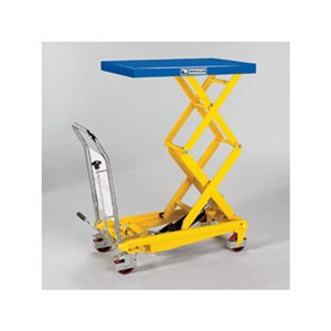"""Lift Table-Mobile 18x26"""" 330 lbs. Steel Top"""