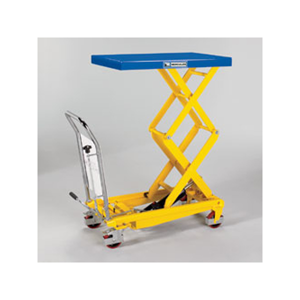 """Lift Table-Mobile 17x26"""" 330 lbs. Steel Top"""