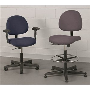 "Chair- Value-Line 16-21""  Glides - Black"
