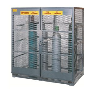 Cylinder Storage - 6 Cylinder Vertical - Aluminum.