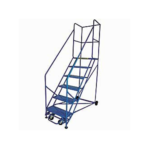 Rolling Safety Ladder 50 Degree 5 Step