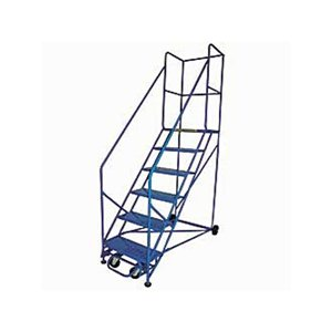 Rolling Safety Ladder 50 Degree 6 Step
