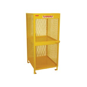 Cylinder Storage - 4 Cylinder LP Vertical - Steel