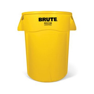 Brute Vented Container 44 Gallon-Yellow