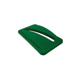 Slim Jim-RECYCLE-Paper Slot-Lid  Green for 23 Gallon