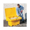 SOS Storage Bin 5.5 Cu Ft -Yellow