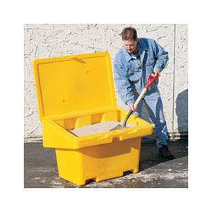 SOS Storage Bin 11 Cu Ft - Yellow