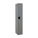 "Locker - Single Tier - 12x18x72"" 1 Wide Grey"