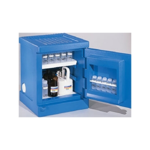 Safety Cabinet -Polyethylene Acid 4 Gallon Blue