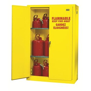 Safety Flammable Cabinet ULC Approved 45 Gallon