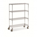 Wire 4 Shelf Super Adj.Truck 18x36x68""