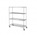 Wire 4 Shelf Super Erecta Truck 24x48x68""