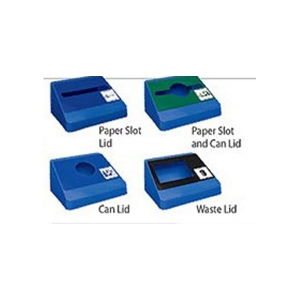 Smart Sort Lid - Rectangular Opening - Blue/Black