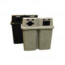 Bullseye DUO Recycling Station - Grey