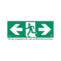 Ecoglo Photoluminescent Exit Sign System- Standard Series
