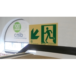 Pathmarking Exit Signs