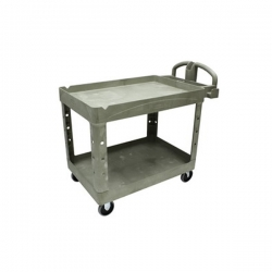 Rubbermaid Utility Cart - Regular Shelf