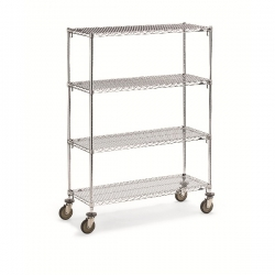 Wire Shelf Trucks - Super Adjustable